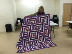 Penny's Workshop quilt