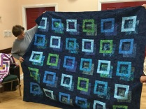 "Honor's ""out of the box"" quilt"