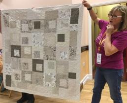 a calming quilt for a friend